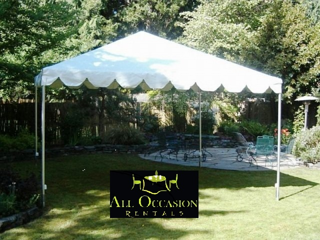 15' x 15' Frame Style Tent