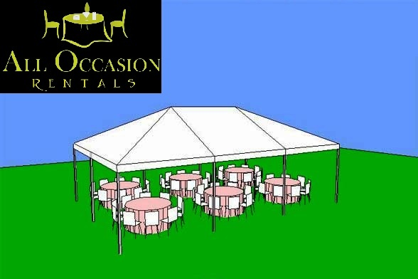 20' x 30' Frame Style Tent