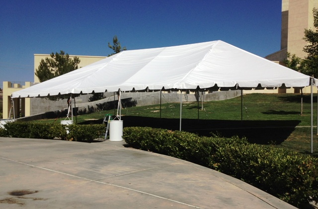 30' x 50' Frame Style Tent
