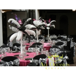 Center Pieces Feathers