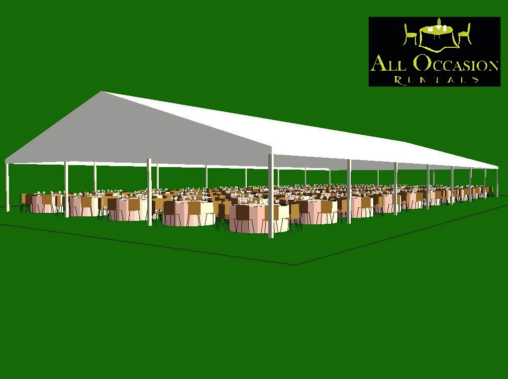 Clearspan Structure Tents 50 'X 100'