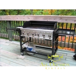 6-Burner Event Propane Gas Grill