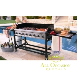8 Burner Event Propane Gas Grill