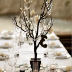 Center Pieces Crystal Tree