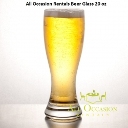 Beer Glass 20 oz