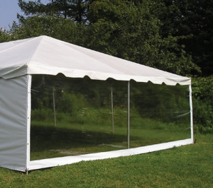Tent Clear sidewall 8' (Per linear foot)