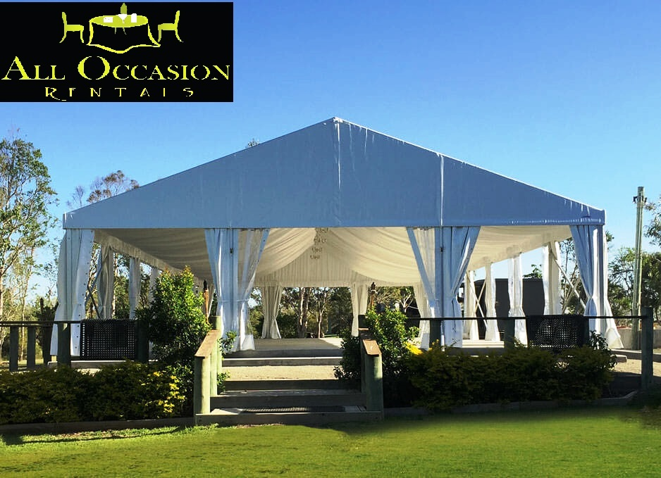 Clearspan Structure Tents 40 'X 80'