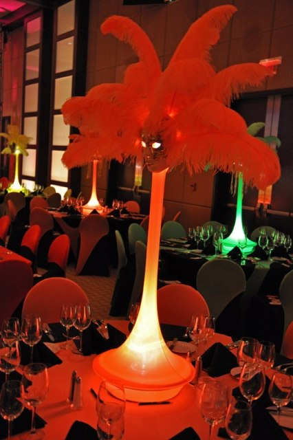 Feathers Centerpieces FCP-15