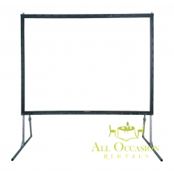 Front or Rear Projection Screen