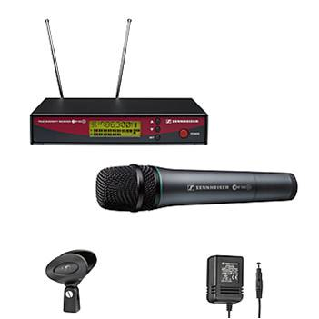 Microphones (Wireless) Double Sennhiser G2 Handheld/Lapel Combo