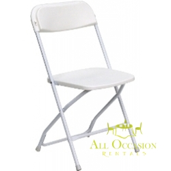 Plastic Folding Chairs White for Kids