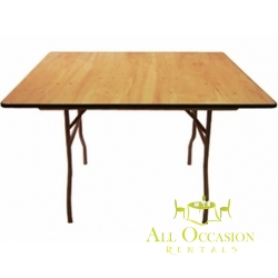 "60"" Square Folding Table"