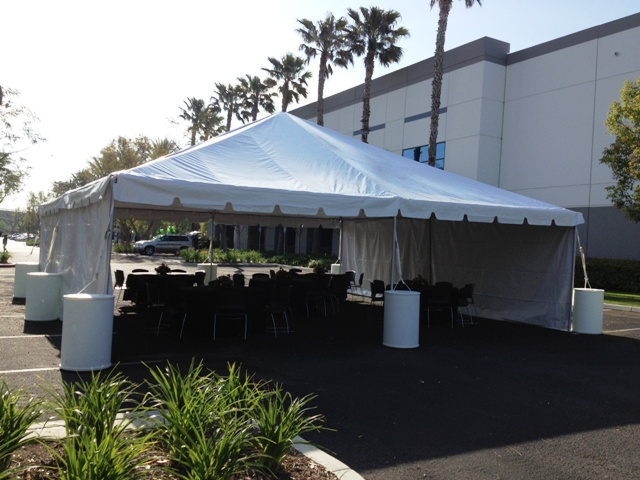 30' x 30' Frame Style Tent