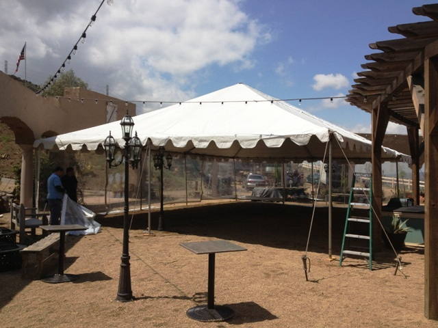 30' x 40' Frame Style Tent