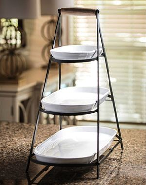 3 Tier Plate Stands