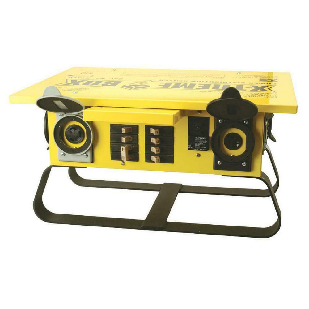 Portable Power Distributor Box